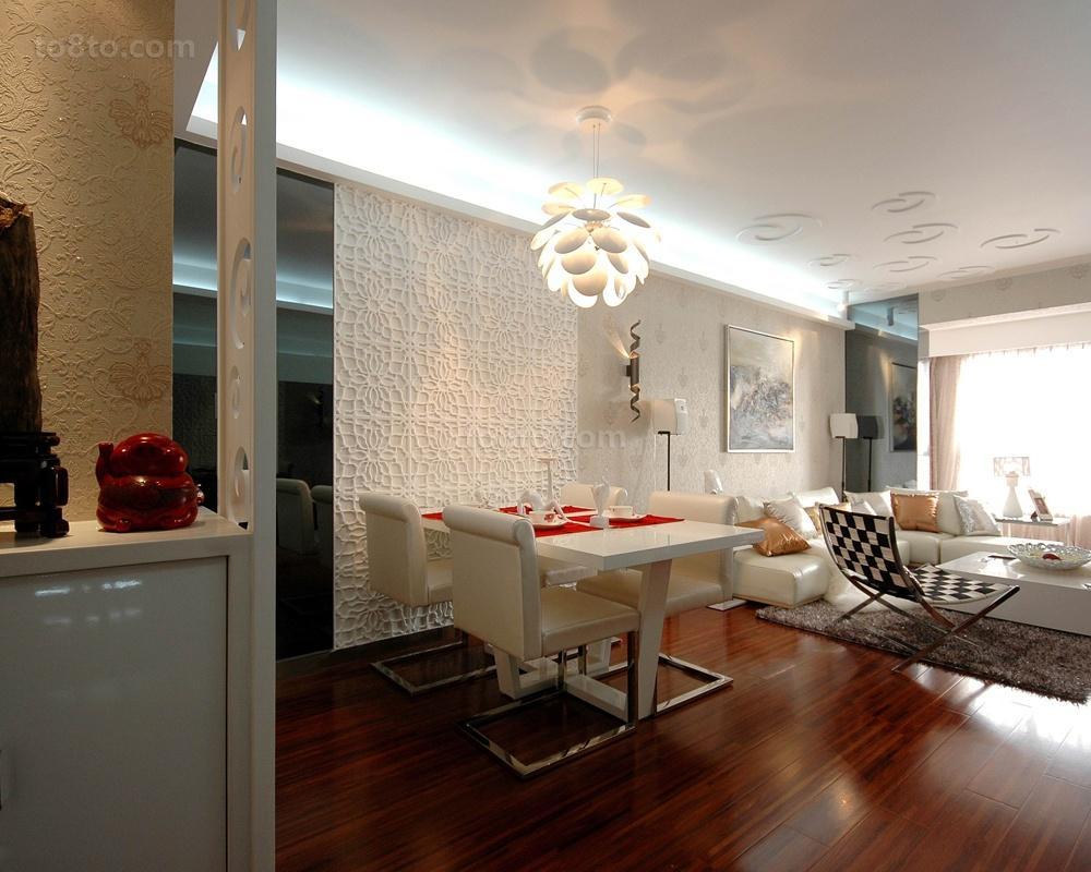 家装餐厅吊灯造型设计效果图片