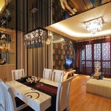 85平米现代小户型餐厅装修设计效果图片