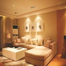 精美面积70平现代二居客厅装修设计效果图