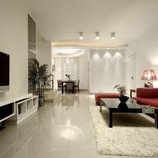 热门大小76平现代二居客厅欣赏图片