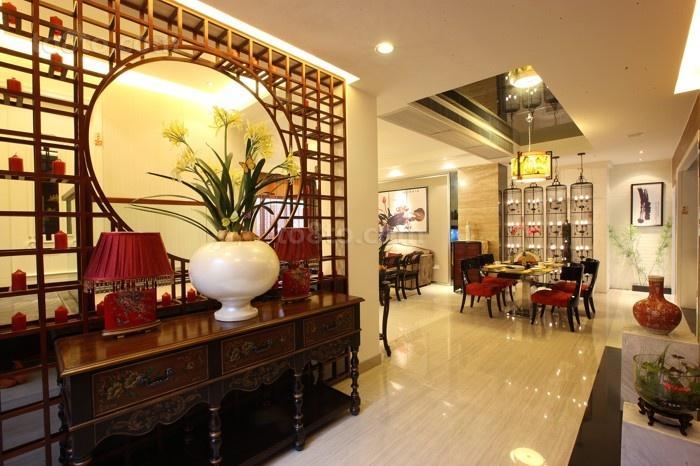中式风格室内装修设计效果图