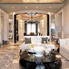 精选面积139平别墅客厅欧式装饰图片