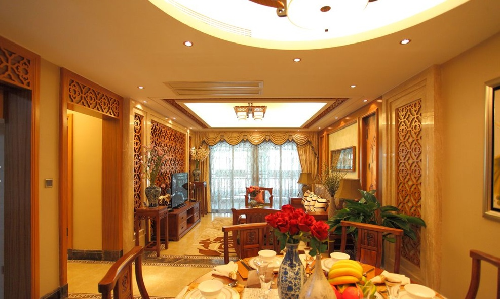 中式风格室内装修效果图片大全