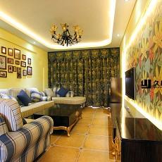 20平米小客厅装修效果图大全2013图片