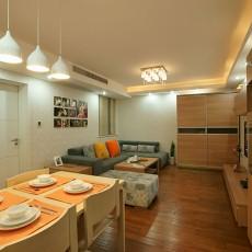现代简约小户型客厅装修效果图大全