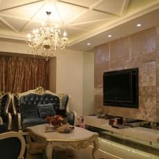 精美110平米新古典别墅客厅装饰图片