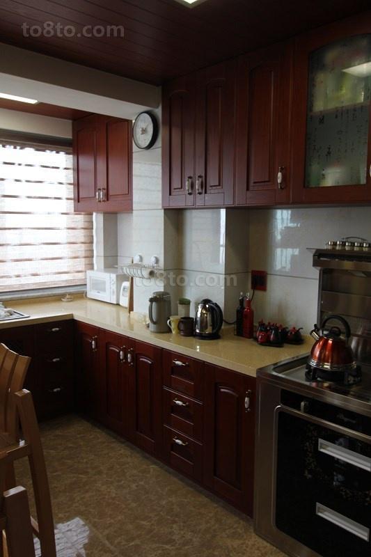 2018小户型厨房中式装修图片大全