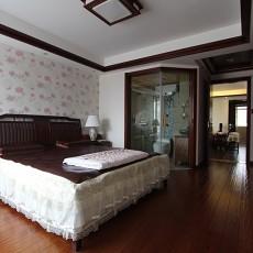 一居卧室中式实景图片欣赏