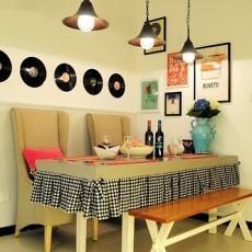 田园风格小餐厅装修效果图片