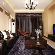 201880平米现代小户型客厅欣赏图