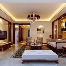 精选大小103平欧式三居客厅效果图片
