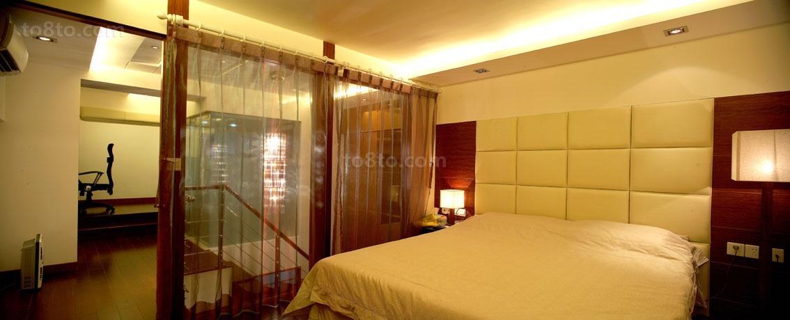 热门119平米现代复式卧室装修效果图片大全