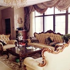 小户型客厅美式装修效果图片大全