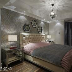 201887平米欧式小户型卧室装修实景图