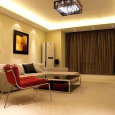 精美面积80平小户型客厅现代装饰图片大全