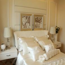 面积73平欧式二居卧室装修效果图片大全