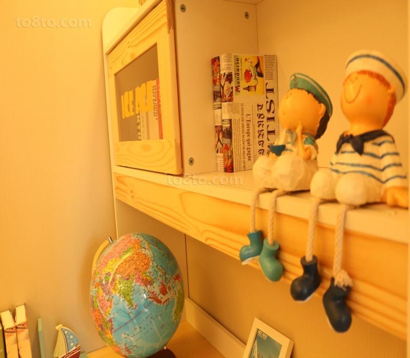 儿童房室内装饰摆件效果图