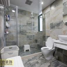小户型卫生间现代装饰图片