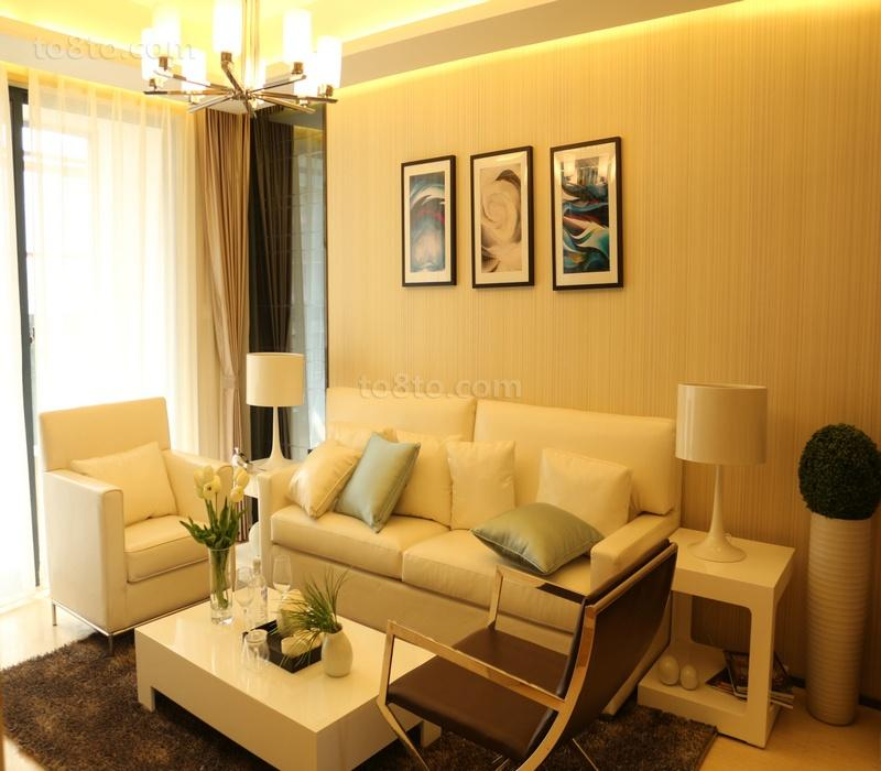 小两居客厅装修效果图欣赏