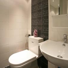 精选面积84平现代二居卫生间装修欣赏图