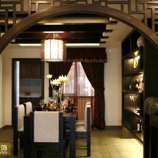 中式风格餐厅装修设计欣赏