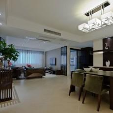 面积72平中式二居客厅装修设计效果图片大全