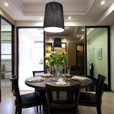 精美71平米现代小户型餐厅装修欣赏图片