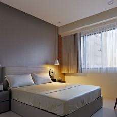 2018简约一居卧室装修设计效果图片大全