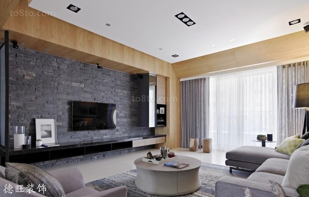 精美面积79平小户型客厅简约效果图片