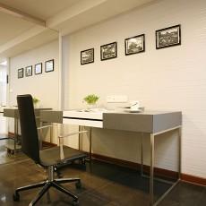 热门72平米现代小户型书房欣赏图