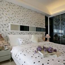 热门面积89平现代二居卧室装修设计效果图片欣赏