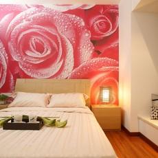 热门100平米三居卧室现代装饰图片大全