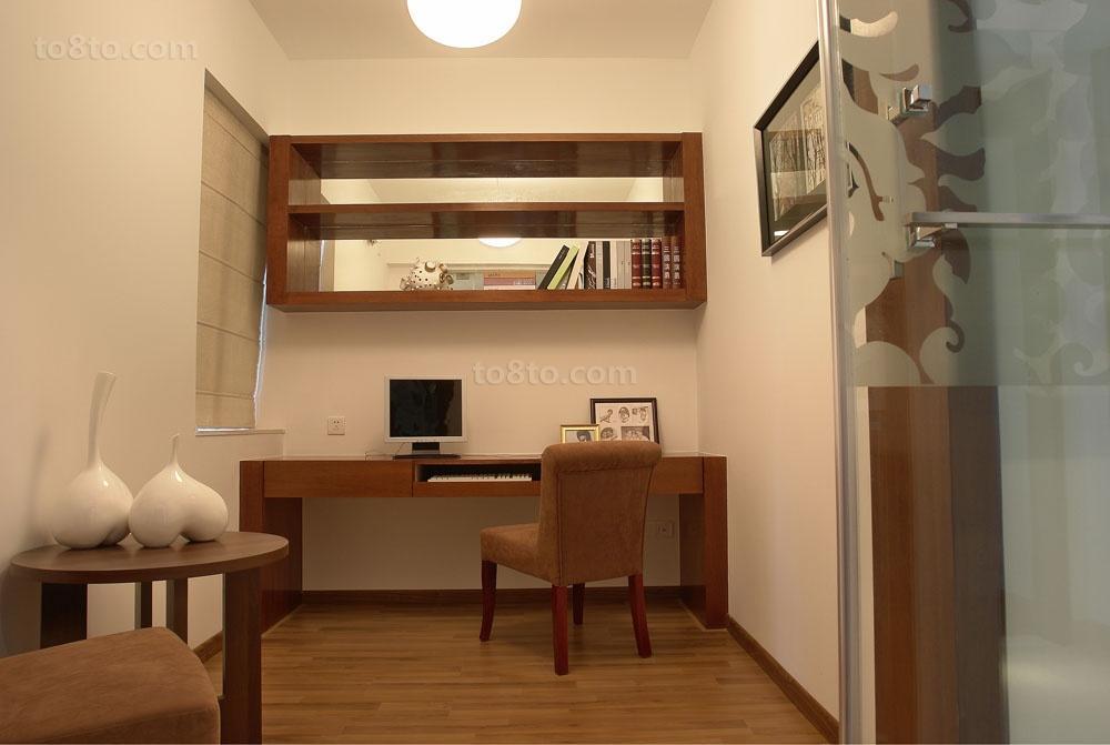 热门中式小户型书房装修效果图片