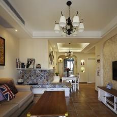 小户型客厅美式效果图片大全