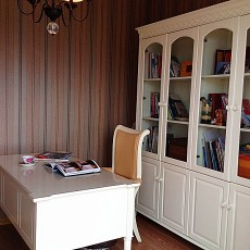 72平米田园小户型书房装修图片欣赏