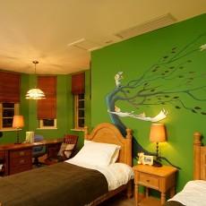 热门面积74平小户型卧室东南亚装修实景图片欣赏
