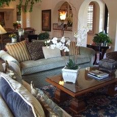 热门118平米美式别墅客厅装修实景图片