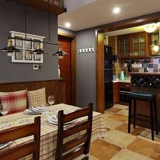 美式小户型餐厅装修效果图