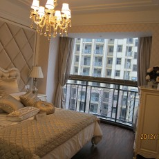 欧式风格小卧室装修效果图欣赏