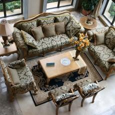 热门119平米欧式别墅客厅装修欣赏图片