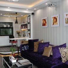 热门70平米现代小户型客厅装修实景图片大全