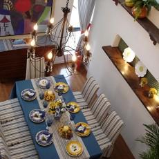 地中海餐厅装修效果图大全图片