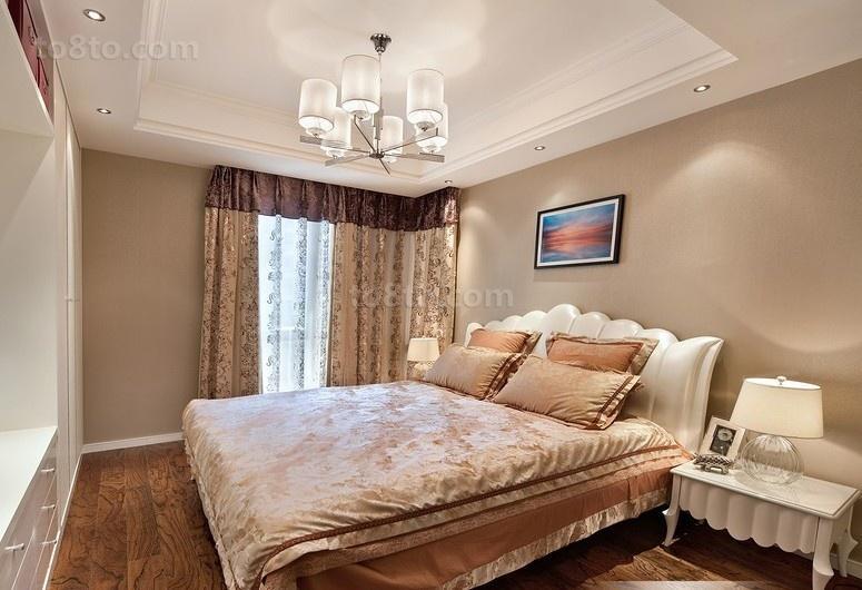 一居卧室欧式装修设计效果图片大全