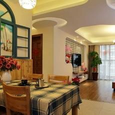 田园风格小餐厅效果图欣赏