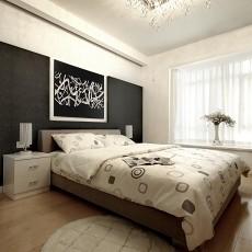 现代简约15平米卧室装修效果图
