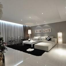 热门面积89平现代二居客厅装修设计效果图