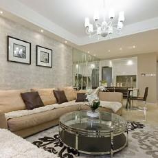 79平米二居客厅简约装修设计效果图片欣赏
