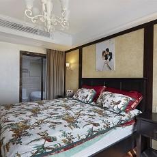 精美70平米二居卧室美式装修图片大全