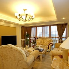 欧式装修风格小客厅效果图
