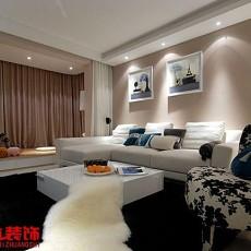 201876平米现代小户型客厅装修设计效果图片